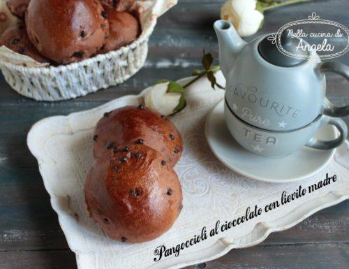 Pangoccioli al cioccolato con lievito madre