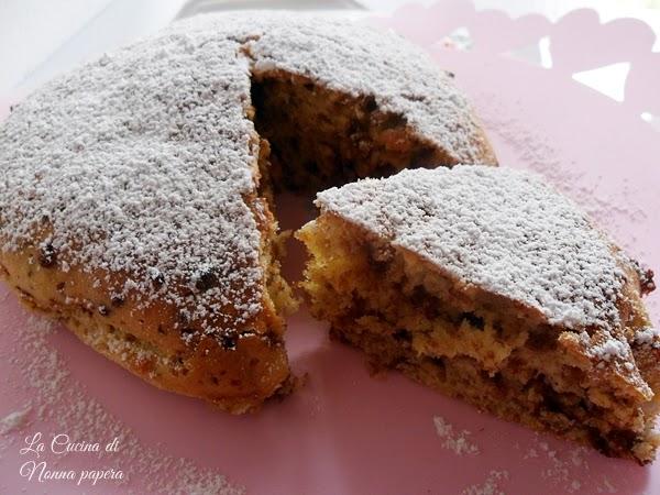 Torta-banane-e-cioccolato