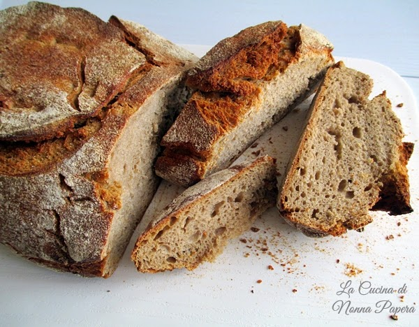 Pane di segale al latte ricetta bimby