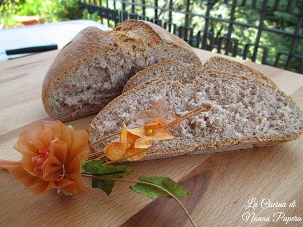 Pane e pizza con farina di segale