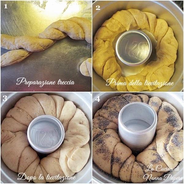 Pane allo yogurt e semi di papavero