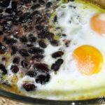 Fagioli e uova
