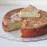 Torta di mele con farina di ceci