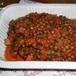 Lenticchie e verdure