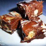 Dolce al cioccolato fuso e nutella