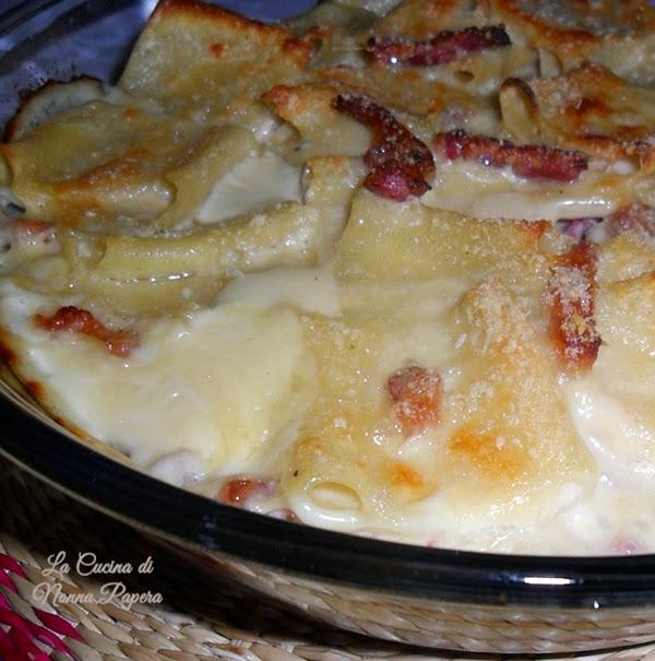 Paccheri-pancetta-affumicata-besciamella