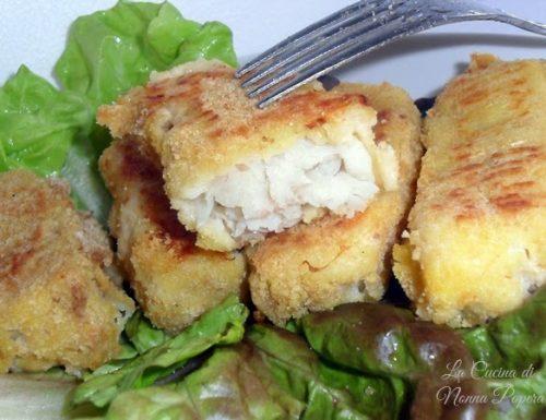 Bastoncini di pesce fatti in casa