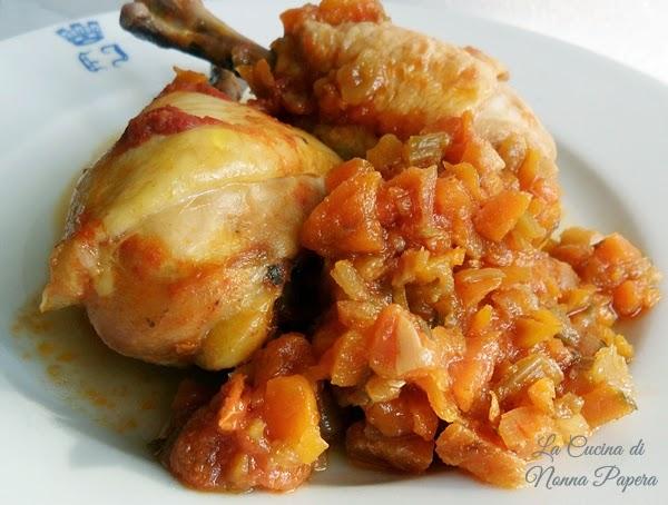 Pollo-verdure-pentola apressione