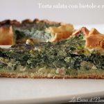 Torta salata con bietole e ricotta