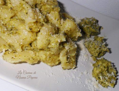 Gnocchi in crema di broccoli