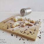 Cornetti dolci di pasta sfoglia