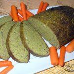 Polpettone con bietole zucchine e tacchino