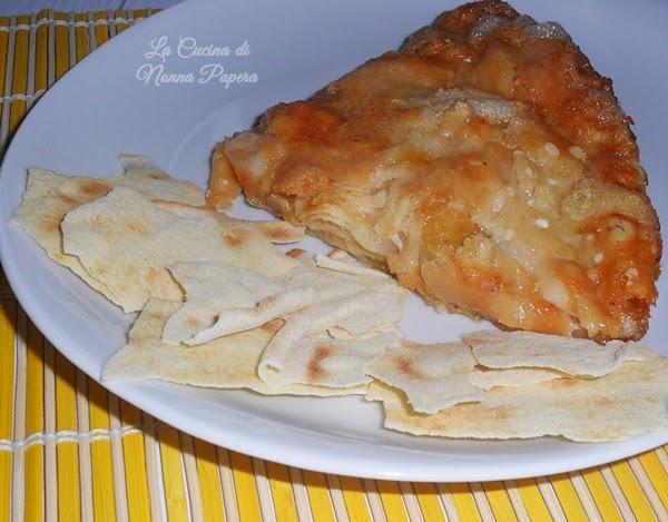 Lasagne vegetali con pane carasau