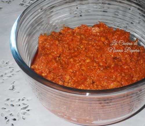 Ragù di carne ricetta bimby