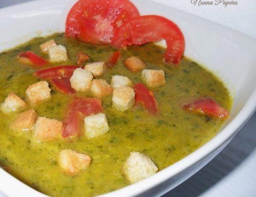 Minestra di spinaci e patate ricetta veloce