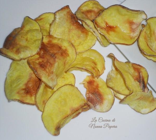 Patatine fritte nel forno a microonde