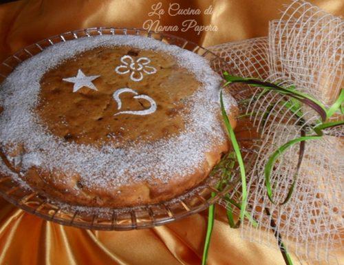 Torta di cioccolato grattugiato ricetta facile