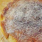 torta con panna e nocciole