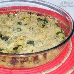 Zucchine gratinate cottura nel microonde