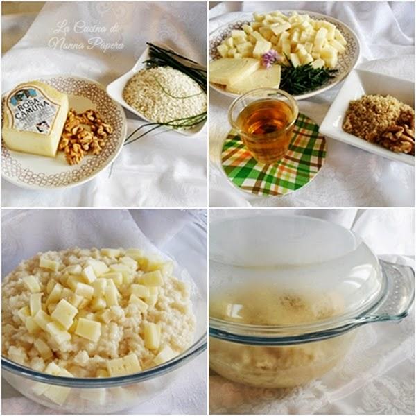 Risotto al formaggio Rosa Camuna ricetta bimby
