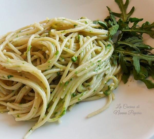 Spaghetti alla rucola
