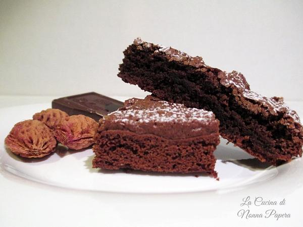 Torta Al Cioccolato Con Fondi Di Caffè