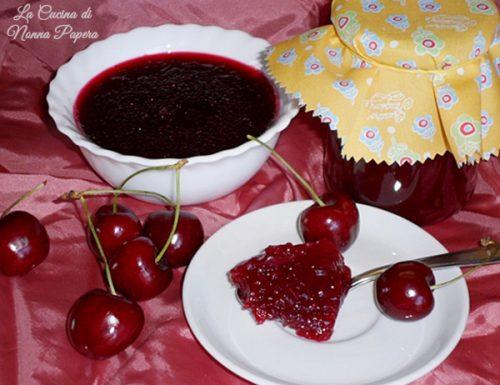 Marmellata di ciliegie ricetta bimby