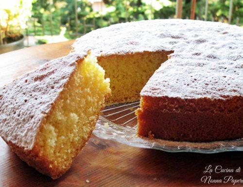 Torta Paradiso soffice