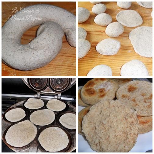 Tigelle o crescentine con farina di segale