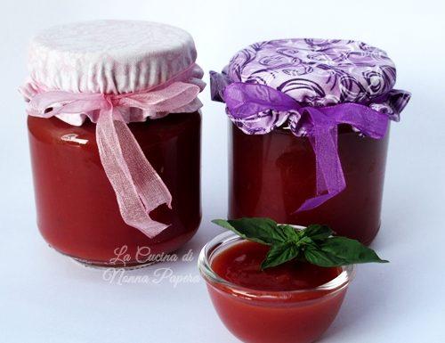 Conserva di pomodori ricetta bimby