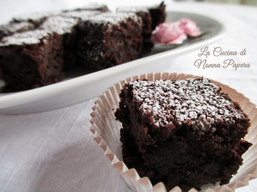 Torta al cioccolato ricetta di Viki