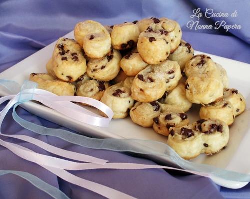 biscotti di pasta sfoglia