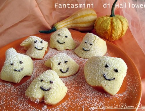 Fantasmini ricetta per Halloween