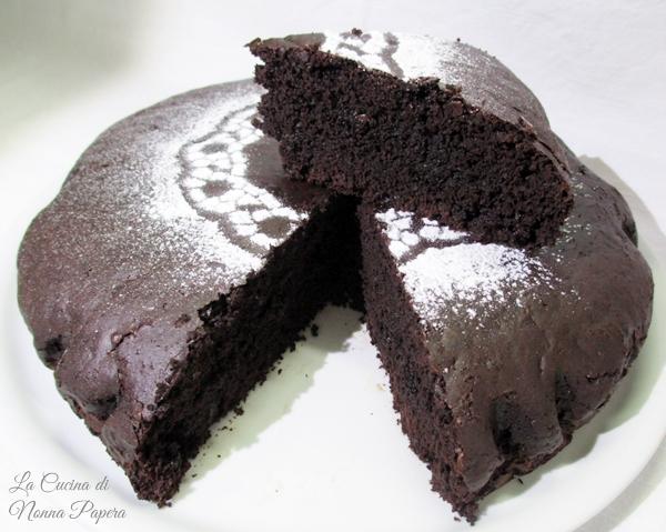 torta amara al cacao