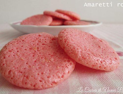 Amaretti rosa
