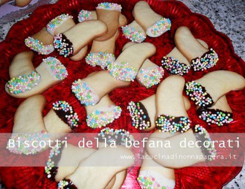 Biscotti della Befana ricetta con margarina