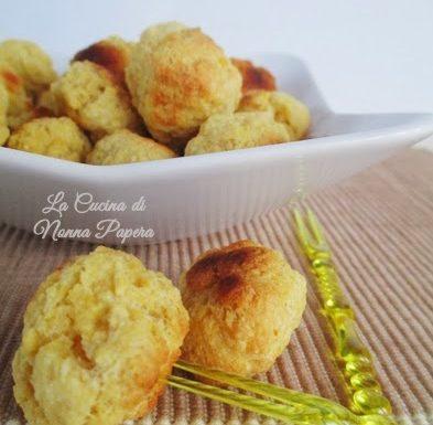 Crocchette di ricotta con farina di cereali