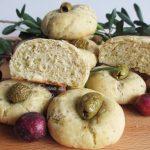Panini morbidi alle olive