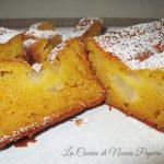 Plum cake di pere frullate
