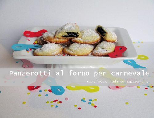 Panzerotti al forno per carnevale
