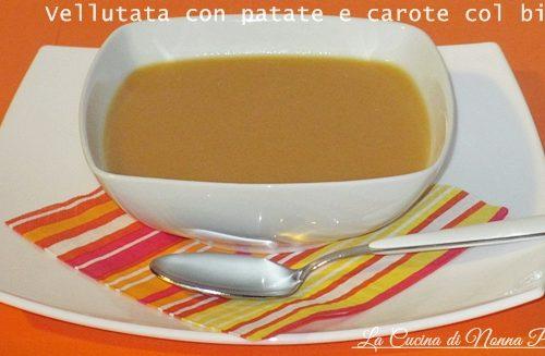 Vellutata di patate e carote ricetta bimby