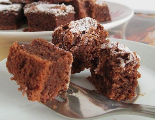 Dolce morbido al cioccolato fondente