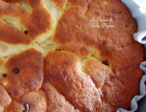 Torta di pere cremosa ricetta bimby