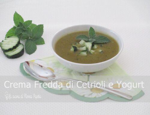 Crema Fredda di Cetrioli