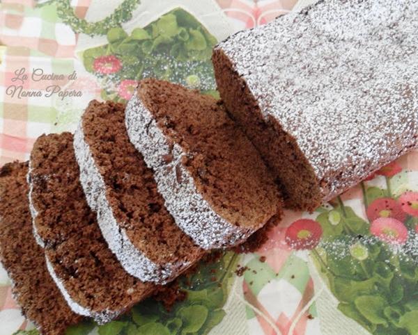 Plumcake cacao nocciola