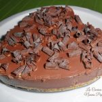 Torta fredda al budino di cioccolato