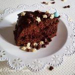 Torta al cioccolato farcita