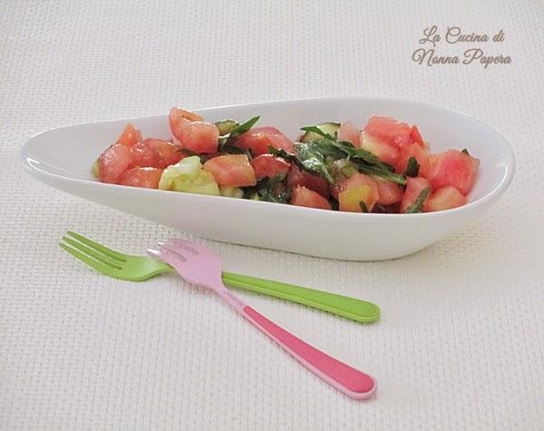 Dadolata di verdure estive