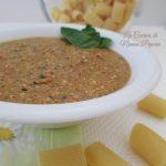 Pesto di peperoni e basilico