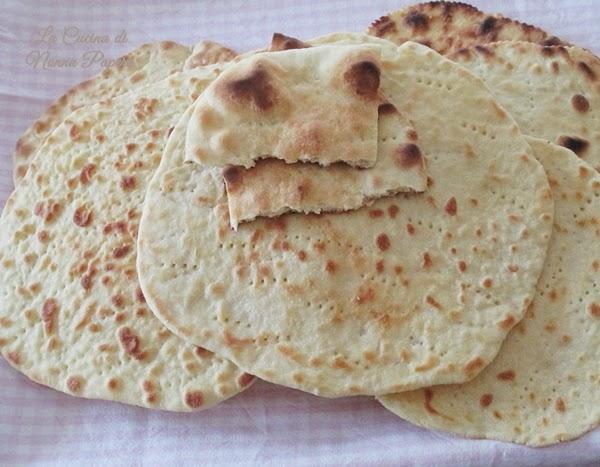 Piadina con farina di kamut